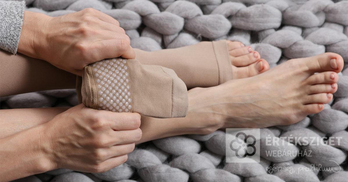 vásároljon zoknit a visszérben