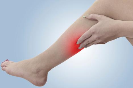 fájdalom a visszér lábain