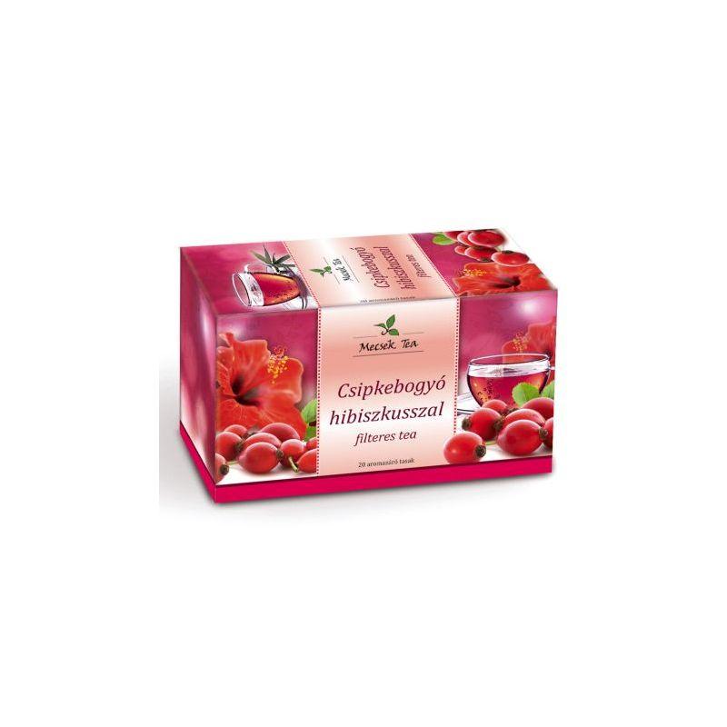 stonedesign.hu Rózsa és hibiszkusz virág tea