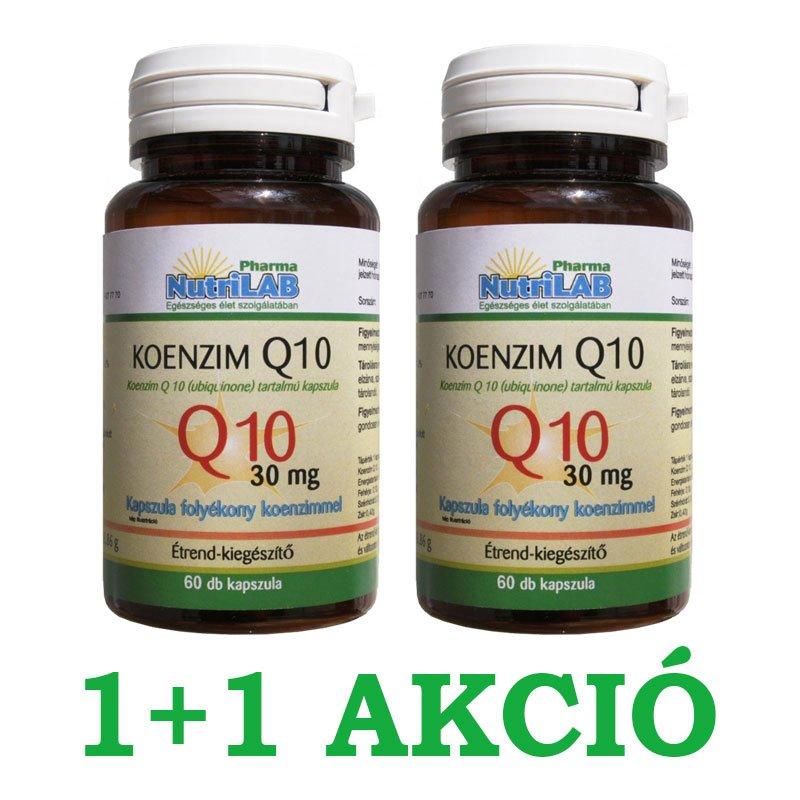 Bioheal Koenzim Q10 60mg Szelénnel, E-vitaminnal és B1-vitaminnal, 70 db | Bioheal | Biosziget
