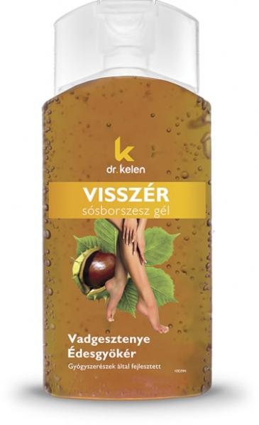 Dr.Kelen Visszér sósborszesz gél - vadgesztenyés - 150 ml